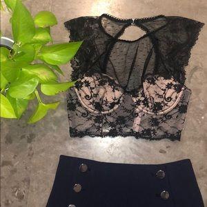 Victoria's Secret lace corset top